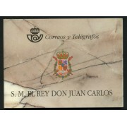 España Spain Prueba de lujo 3544C 64A/D 1998 Carnet Rey Juan Carlos I