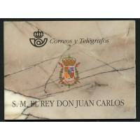 España Spain Nº 3544C 64A/D Prueba de Lujo 1998 Carnet Rey Juan Carlos I