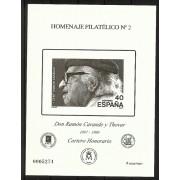 España Spain Homenaje Filatélico 2 2006 Ramón Carande
