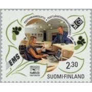 Finlandia - 1210 - f - 1994 Cent. de la Federacón de funcionarios de correos Lujo