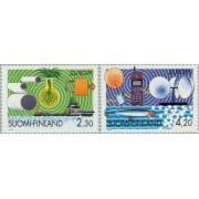 Finlandia - 1214/15 - 1994 Europa Descubrimientos Lujo