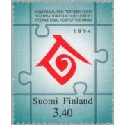 Finlandia - 1234 - 1994 Año inter. de la familia Símbolo Lujo