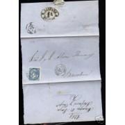<div><strong>España Carta Nº 88 Almagro Ciudad Real a Barcelona</strong></div>