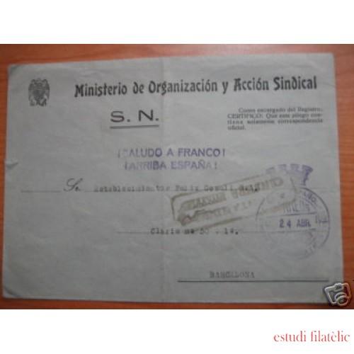 <div><strong>España Carta Franquicia Ministerio Acción Sindical</strong></div>