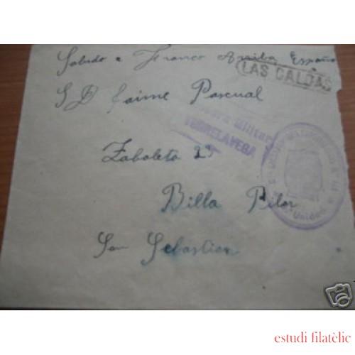 <div><strong>España Carta San Sebastián Caldas de Besaya Torrelavega</strong></div>