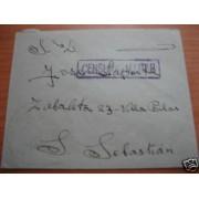 <div><strong>España Carta Flandes San Sebastián Franquicia Militar</strong></div>