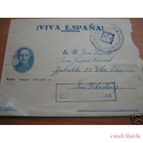 <div><strong>España Carta Maestrazgo San Sebastián Franquicia</strong></div>