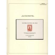 España Spain Hojitas Recuerdo 25 1974 FNMT VIII Feria Nacional del Sello