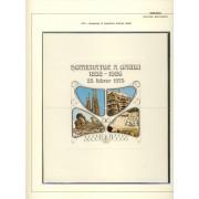 España Spain Hojitas Recuerdo 28 1974 FNMT Exfilna 74