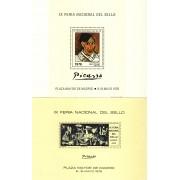 España Spain Hojitas Recuerdo 40/41 1976 FNMT Plaza Mayor de Madrid Picasso