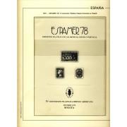 España Spain Hojitas Recuerdo 73 1978 FNMT Espamer 78