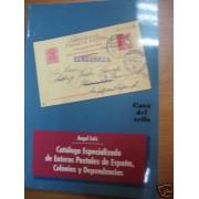 <div><strong>Catálogo Especializado Enteros Postales España y Colonias<br />  </strong></div>