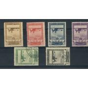 España Spain 448/53 1929 Aéreo Exposiciones Sevilla y Barcelona 150€
