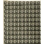 España Spain Variedad 129pn 1872 Prueba Bloque de 100
