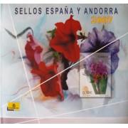 Libro Album Oficial de Sellos España y Andorra 2007