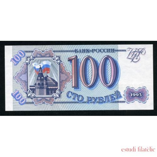 Billete P.243 Rusia 100 Rublos 1991 SC