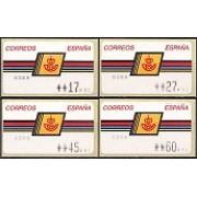 ATMs - Térmicos 1992/7 - E1 - Emblema Correos margo grueso