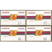 ATMs - Térmicos 1992/7 - E2 - Emblema de Correos marco fino