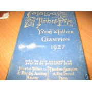 <div><strong>Catálogo Yvert 1927 precioso<br />  </strong></div>
