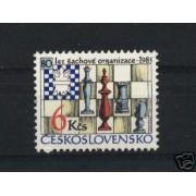 AJZ1 Checoslovaquia  Nº 2626  2811  2557   1985  MNH