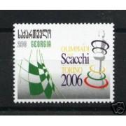 Ajedrez Georgia 2007 Olimpiadi Torino Turin  2006 436 539 409