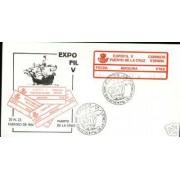 <div><strong>ATMs Etiqueta Postal Conmemorativa</strong><strong> Expofil V en sobre Valor no autorizado<br />  </strong></div>