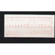 <div><strong>ATMs FRAMA Nº 1980.002 SG-15 muy rara<br /> </strong></div>