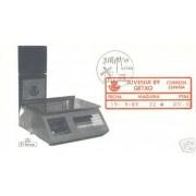 <div><strong>ATMs Etiqueta Postal Conmemorativa N</strong><strong>º 21a Juvenia 89 </strong><strong>en sobre </strong></div>