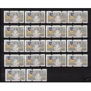<div><strong>ATMs Kl&uuml;ssendorf Xacobeo 93 3 dígitos 18 valores rara<br />  </strong></div>