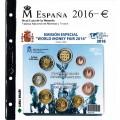 Album Oficial FNMT para carteritas, pesetas y euros