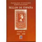 FILATELIA - Biblioteca - Catálogogos España y Colonias - EdCUE1b - CATÁLOGO ESPAÑA ESPECIALIZADO EDIFIL 2009 1950/1990