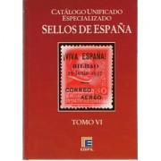 FILATELIA - Biblioteca - Catálogogos España y Colonias - EdCuE1e - CATÁLOGO ESPAÑA ESPECIALIZADO EDIFIL TOMO VI