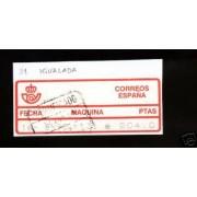<div><strong>Etiqueta Postal Conmemorativa N</strong><strong>º Manfil 4 muy rara usada<br /> </strong></div>