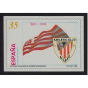 España Tarjetas del Correo y de Iniciativa Privada 37 1998 Athletic de Bilbao Fútbol Football