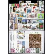 España Spain Año Completo Year Complete 1998 Incluye Minipliego Caballos Completo