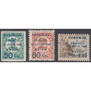 España Spain Canarias 11/13 1937 Canarias a Franco MNH