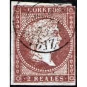 España Spain 42 1855 Isabel II Usado