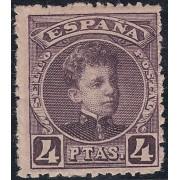 España Spain 254 1901/1905  Alfonso XIII Cadete Edifil 410€