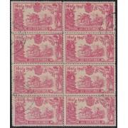 España Spain 262 (257/66) 1905 Bl.8  Quijote