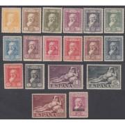España Spain 499/516 499/16 Goya 1930 MH