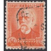 España Spain Variedad 661 1931 - 1932 Error Nicolás Salmeron