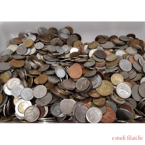 <div><strong>Lote 1 Kg Monedas Mundiales variadas</strong></div>
