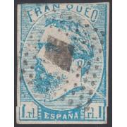 España Spain Variedad 156 1873 Carlos VII Fuelle