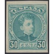 España Spain Variedad 249s 1901/1905 Sin Dentar Cadete Alfonso XIII
