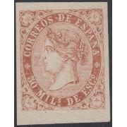 España Spain Variedad 98pce 1868 Prueba de Color