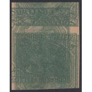 España Spain Variedad 201 1879 Prueba Maculatura