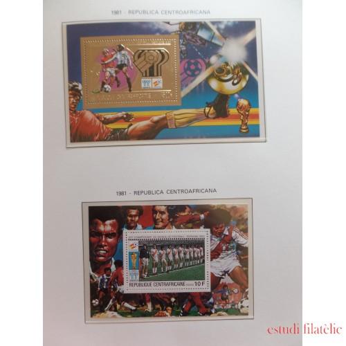 Colección Mundial de Fútbol España 1982 Completa