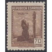 España Spain NE 52 1939 No Emitido Correo de Campaña 1939 MNH