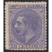 España Spain NE 6 1879 No Emitido Alfonso XII MH