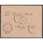 España Spain 6 1890 FQ Dr. Thebussem en Carta
